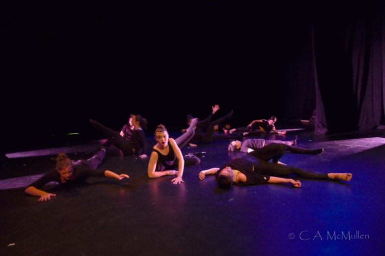 Eunoia dance performance, Fringe Festival. Choreographer: Koryn Wicks