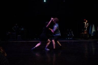 Dancers Greyson Hanson and Rachel Wu