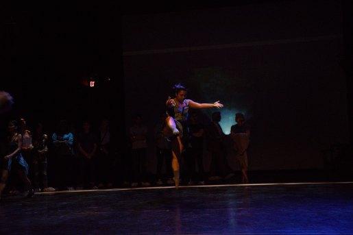 Dancer Katherine Wong
