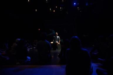 Dancer, Simon Harrison In back, dance on film